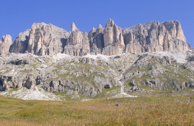 Dolomite of the Alps