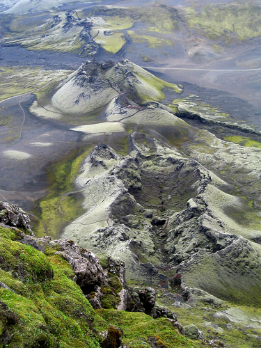 Iceland volcanoes - The nothern tip of the Mid Atlantic Ridge