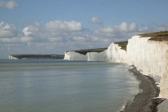 White cliffs of Dover - Carbonated Rock